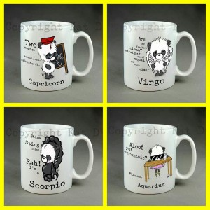 Pandamonium Mugs By Gallery Gifts