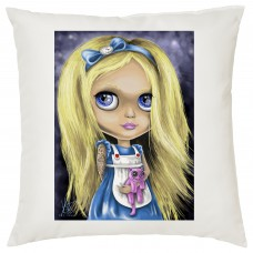 Tattooed Alice Decorative Cushion