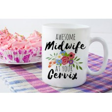 Awesome Ceramic Midwife Mug