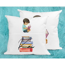 Personalised Reading Pillow For Boys