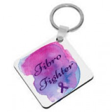 Fibromyalgia Awareness, Keyring (Fibro Fighter)