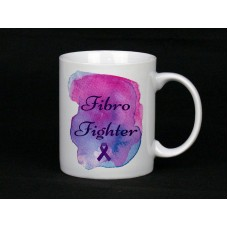 Fibromyalgia Awareness, Mug (Fibro Fighter)