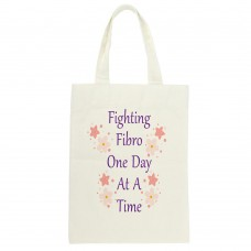 Fibromyalgia Awareness, Tote (Fighting Fibro One Day At A Time)