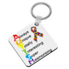 Autism Awareness, Keyring (Always Unique)