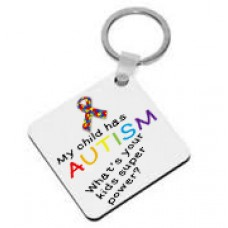 My Child Has Autism, What's Your Kids Superpower? Keyring