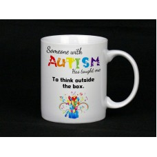 Autism Awareness, Mug (Out Of The Box)