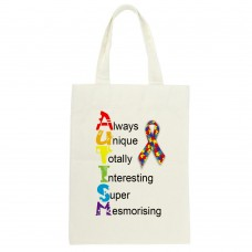 Autism Awareness, Tote Bag (Always Unique)