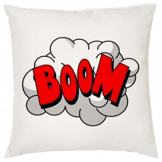 BOOM, Comic Book Decorative Cushion