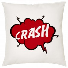 CRASH, Comic Book Decorative Cushion
