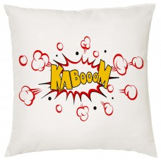 KABOOM, Comic Book Decorative Cushion