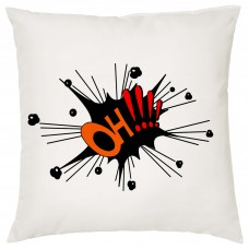 OH, Comic Book Decorative Cushion