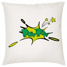 POW POW, Comic Book Decorative Cushion