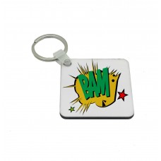 BAM, Comic Book Key Ring