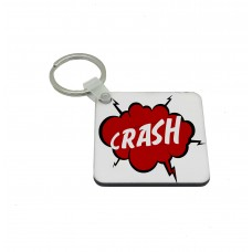 CRASH, Comic Book Key Ring