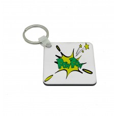 POW POW, Comic Book Key Ring