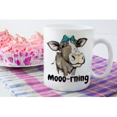 Cute Cow Ceramic Mug