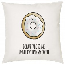 Donut Talk To Me Decorative Cushion
