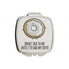 Donut Talk To Me Mirror Compact