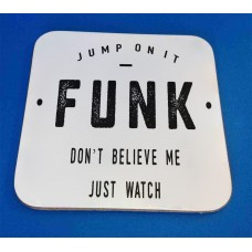 Funk Decorative Coaster