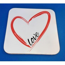 Love Decorative Coaster