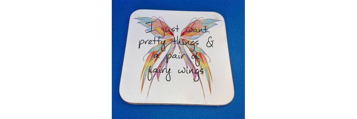 Pretty things coaster