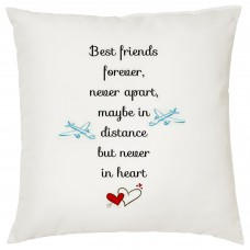 Best Friends Forever Decorative Cushion
