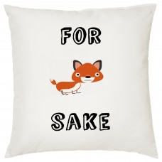 For Fox Sake Decorative Cushion