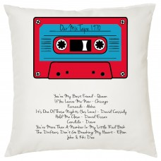 Our Mix Tape Decorative Cushion