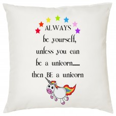 Be A Unicorn Decorative Cushion