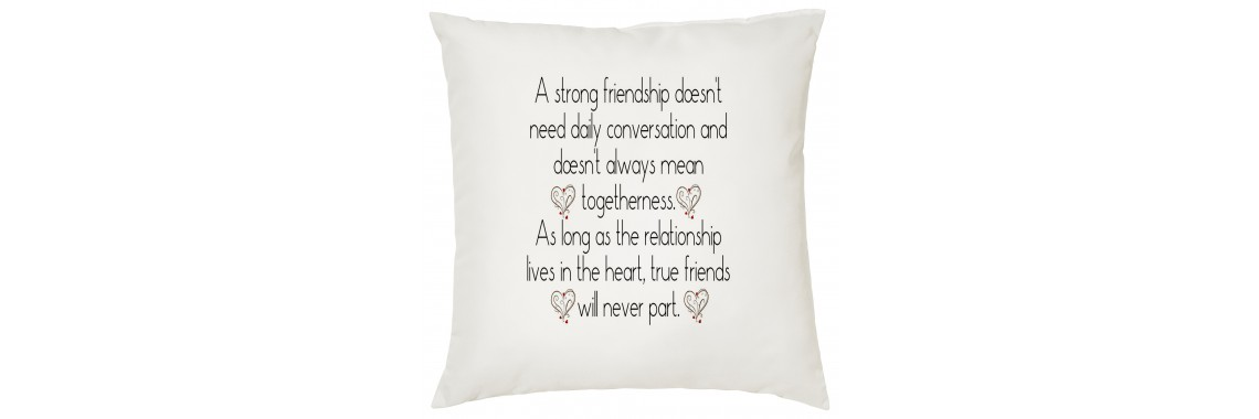 Strong Friendship Cushion