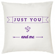 Just You And Me, Decorative Cushion