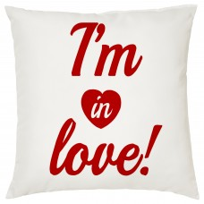 I'm In Love, Decorative Cushion