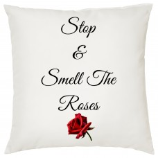 Stop And Smell The Roses, Decorative Cushion