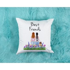 Best Friends Personalised Cushion