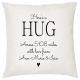 Personalised Hug Pillow