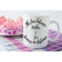 The Love Between Mother & Son Knows No Distance Mug