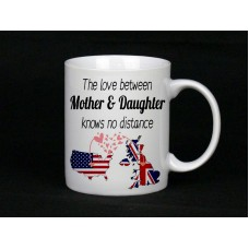 The Love Between Mother & Daughter Knows No Distance Mug