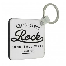 Lets Dance Key Ring