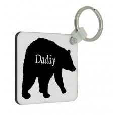 Daddy Bear Key Ring