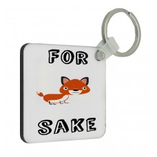 For Fox Sake Key Ring