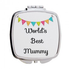 Worlds Best Mummy Mirror Compact