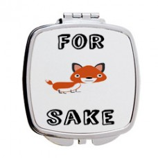 For Fox Sake Mirror Compact