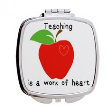 Teaching Is A Work Of Heart, Mirror Compact