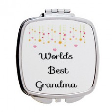 Worlds Best Grandma Mirror Compact