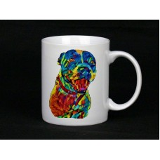 Personalised Rainbow Pet Portrait Mug