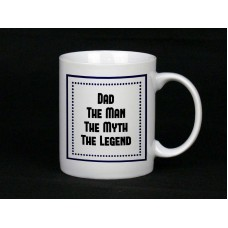 Dad The Man Ceramic Mug