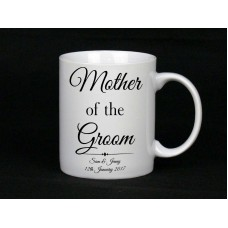 Personalised Mother Of The Groom Mug