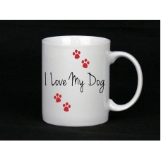 I Love My cat/dog/taranutla Ceramic Mug