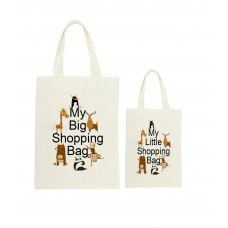 Mummy & Me Zoo Animals Tote Bag