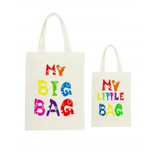 Mummy & Me Rainbow Colours Tote Bag